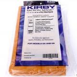 Kirby maišeliai Micron Magic, rudi, tradicinis TWIST pajungimas (PAKUOTĖ 9 VNT. - PIGIAU)