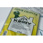 Kirby maišeliai SU AKTYVIA ANGLIMI sulaikantys kvapus, universalus pajungimas (PAKUOTĖ 2 VNT. - PIGIAU)
